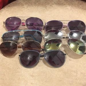 Lot of 7 sunglasses